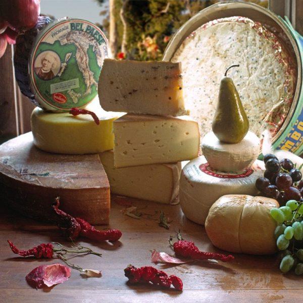 Array of Italian Cheese